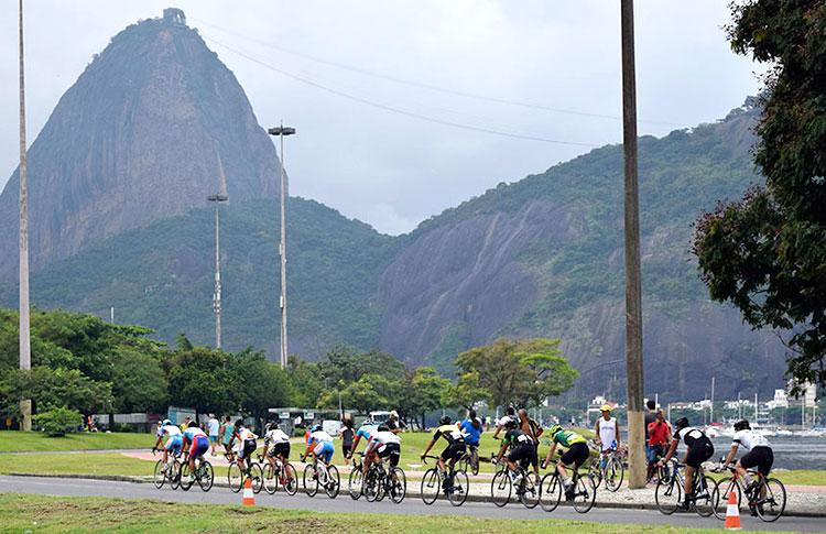 A Enseada de Botafogo vai vibrar com o ciclismo